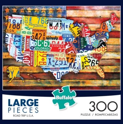 Buffalo Games Road Trip USA Jigsaw Puzzle