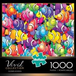 Buffalo Games Clown School Vivid Collection Jigsaw Puzzle