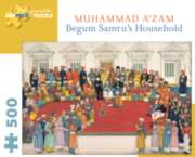 Pomegranate Begum Samru's Household 500-piece Jigsaw Puzzle