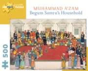 Pomegranate Begum Samru's Household 500-piece Jigsaw Puzzle