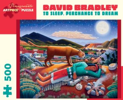 Pomegranate Bradley: To Sleep, Perchance to Dream 500-piece Jigsaw Puzzle