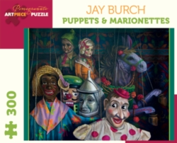 Pomegranate Burch: Puppets 300-piece Jigsaw Puzzle
