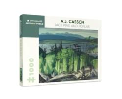 Pomegranate Casson: Jack Pine & Poplar 1000-piece Jigsaw Puzzle