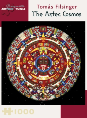 Pomegranate Filsinger: The Aztec Cosmos 1000-piece Jigsaw Puzzle