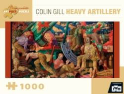 Pomegranate Gil: Heavy Artillery 1000-piece Puzzle