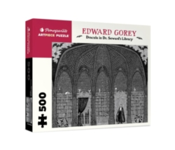 Pomegranate Gorey: Dracula in Dr. Seward's Library 500-piece Jigsaw Puzzle