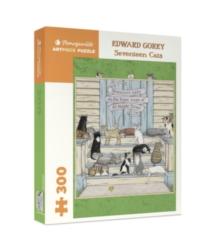 Pomegranate Gorey: Seventeen Cats 300-piece Jigsaw Puzzle