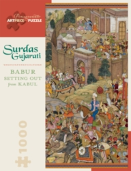 Pomegranate Gujarati: Babur Setting Out 1000-piece