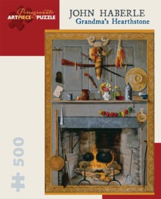 Pomegranate Haberle: Grandma's Hearthstone 500-piece Jigsaw Puzzle