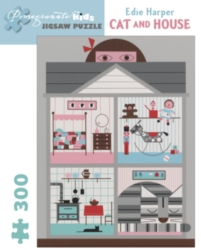 Pomegranate Harper: Cat and House 300-piece Jigsaw Puzzle