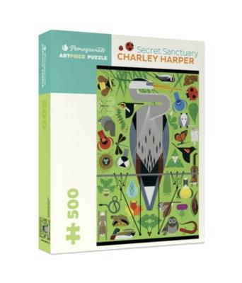 Pomegranate Harper: Secret Sanctuary 500-piece Jigsaw Puzzle