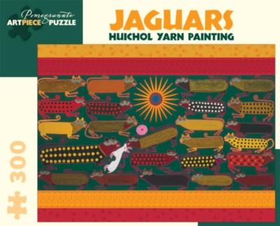 Pomegranate Huichol Yarn: Jaguars 300-piece Jigsaw Puzzle