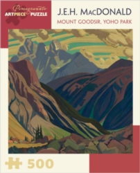 Pomegranate MacDonald: Mount Goodsir, Yoho Park 500-piece Jigsaw Puzzle