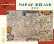 Pomegranate Map of Ireland: 1599 500-piece Jigsaw Puzzle