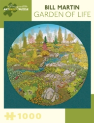 Pomegranate Martin: Garden of Life 1000-piece Jigsaw Puzzle