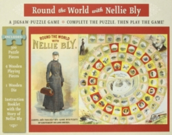 Pomegranate Nellie Bly 300-piece Jigsaw Puzzle