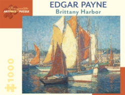 Pomegranate Payne: Brittany Harbor 1000-piece Jigsaw Puzzle