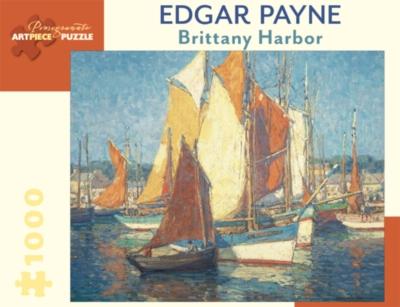 Pomegranate Payne: Brittany Harbor 1000-piece Jigsaw Puzzle
