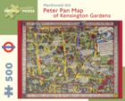 Peter Pan Map of Kensington Garden- Gill - 500pc Jigsaw Puzzle by Pomegranate