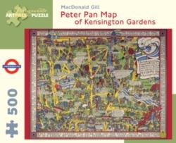 Pomegranate Gill: Peter Pan Map of Kensington Garden 500-piece Jigsaw Puzzle