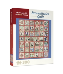 Pomegranate Reconcilliation Quilt 300-piece Jigsaw Puzzle