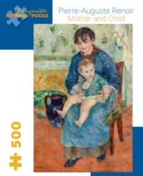 Pomegranate Renoir: Mother and Child 500-piece Jigsaw Puzzle
