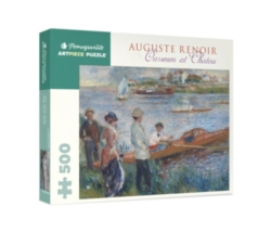 Pomegranate Renoir: Oarsmen at Chatou 500-piece Jigsaw Puzzle