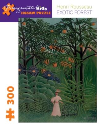 Pomegranate Rousseau: Exotic Forest 300-piece Jigsaw Puzzle