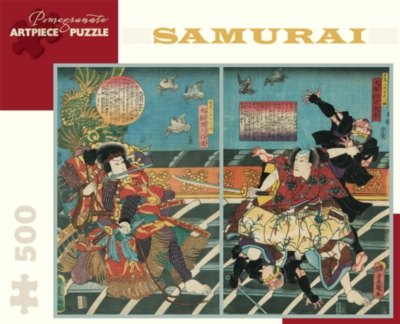 Pomegranate Samurai 500-piece Jigsaw Puzzle