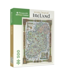 Pomegranate Story Map of Ireland 500-piece Jigsaw Puzzle