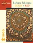 Takenaga: Gold and Red - 1000pc Jigsaw Puzzle by Pomegranate