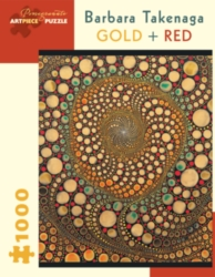 Pomegranate Takenaga: Gold and Red 1000-piece Jigsaw Puzzle