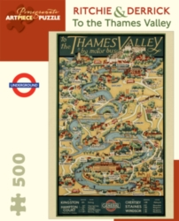 Pomegranate Thames Valley 500-piece Jigsaw Puzzle