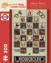 Pomegranate The Zoo - Perry 300-piece Jigsaw Puzzle