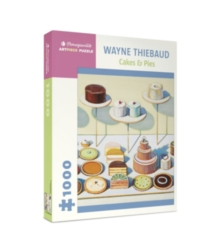 Pomegranate Thiebaud: Cakes & Pies 1000-piece Jigsaw Puzzle