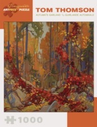 Pomegranate Thomson: Autumn's Garland 1000-piece Jigsaw Puzzle