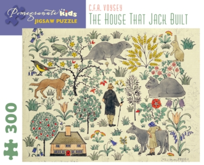 Pomegranate Voysey: The House that Jack Built 300-piece Jigsaw Puzzle