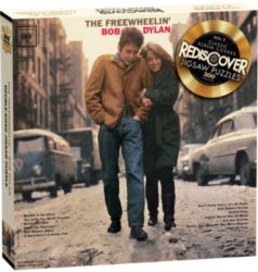 Rediscover Double-Sided Jigsaw Puzzle | Bob Dylan