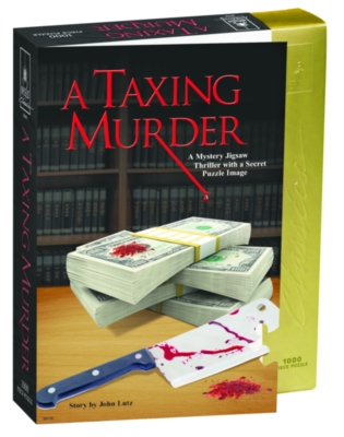 BePuzzled A Taxing Murder Jigsaw Puzzle
