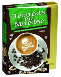 BePuzzled Grounds for Murder Jigsaw Puzzle