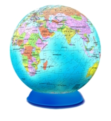 BePuzzled Globe 3D Puzzle Sphere