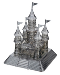 BePuzzled Castle Black 3D Crystal Puzzle