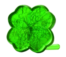 BePuzzled Clover 3D Crystal Puzzle