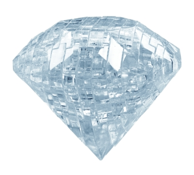 BePuzzled Diamond 3D Crystal Puzzle