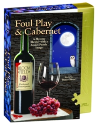 BePuzzled Foul Play & Cabernet Jigsaw Puzzle