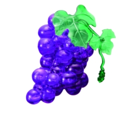 BePuzzled Grape 3D Crystal Puzzle