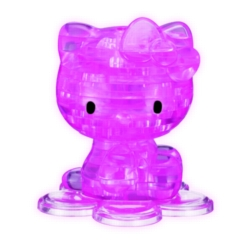 BePuzzled Hello Kitty Pink 3D Crystal Puzzle