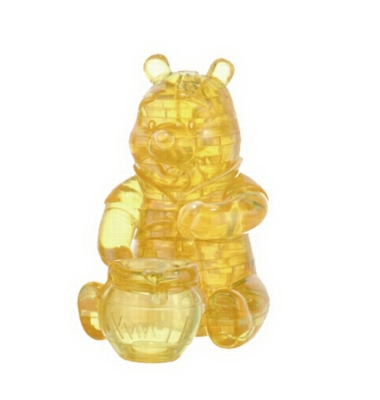 BePuzzled Pooh Honey Pot 3D Crystal Puzzle
