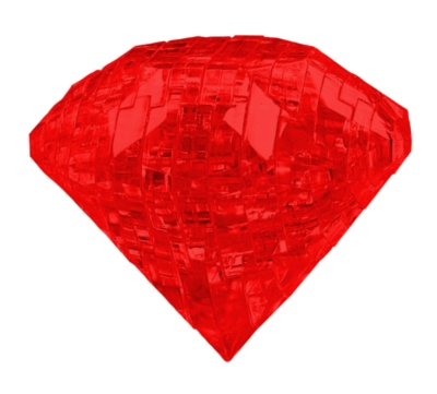 BePuzzled Ruby 3D Crystal Puzzle