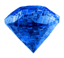 BePuzzled Sapphire 3D Crystal Puzzle